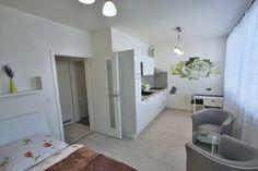 Pronájem Brno-Bystrc, kompletně zařízený nový byt 1+kk s garážovým stáním ul. Nad Přehradou.