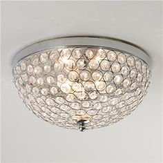 Crystal Jewel Ceiling Light - Shades of Light ($99) for Master Bedroom