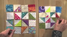 """Addicted to Scraps with Bonnie Hunter for Quiltmaker March/April 2015: Carolyn Beam shows you how to make this adorable 6"""" block in a short free video."""