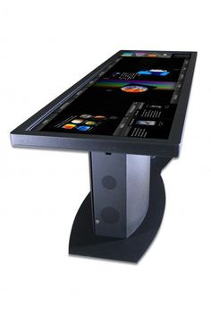100 in touchscreen desk - I don't this but I WANT this 8-P #futuristictechnologytechgadgets
