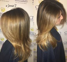 Love adding Balayage for dimension on brunettes too!