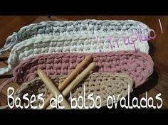 ▶ Bases de Trapillo Ovaladas.! Tutorial DIY Crochet.XXL...¡¡¡¡ - YouTube