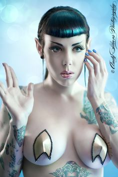 Ms spock ,   Copyright © Andy Silvers 2011