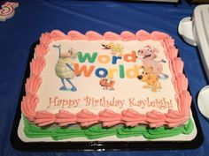 Word World Birthday Cake Birthday Pinterest Words Birthday - Words on cake for birthday