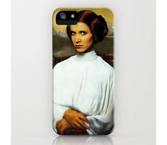 Mona Leia iPhone Case