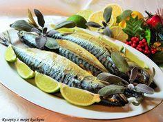 Makrela so šalviou a limetkami, suroviny na prípravu receptu:makrely Radoma od Ryba Žilina (3 ks), 3 menšie strúčiky cesnaku, 1 - 2 ks bio limetky, čerstvé