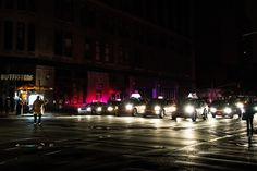 Sixth Avenue and 23rd street, during Sandy blackout by Dan Nguyen