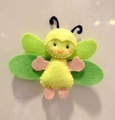 Papillon en feutrine