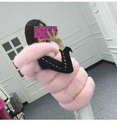 2015 winter coat silver fAUX fur coat hooded vest stripe medium-long vest large size women