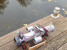 Submersible Drone Powered By Pi The Magpi Magazine - Rather Than Taking To The Skies Like Most Pi Powered Drones This Ingenious Rov Dives Beneath The Surface For Some Underwater Exploration For The Propellers And Pi Camera Tilt System Niels Drafted D Hobby Electronics, Electronics Projects, Computer Projects, Electronics Accessories, Esp8266 Arduino, Underwater Drone, Buy Drone, Robotics Projects, Rasberry Pi