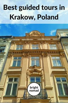 Guided walking tours to take in Krakow - My top picks Europe Travel Guide, Europe Destinations, Travel Guides, Poland Travel, Worldwide Travel, Best Places To Travel, Krakow, European Travel, Walking Tour
