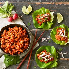 Gochujang Lettuce Wraps   Recipes   Stonewall Kitchen