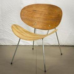 Vintage Retro Barbmama design Piere Paulin stijl stoel