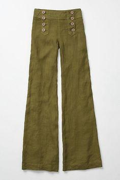 Sailor pants.