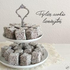 Triplán csokis lamington | SweetHome