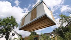 Minihaus-anbieter hier gibt\'s kleine häuser unter 100 quadratmeter. Smart Home, Facade, Outdoor Decor, Home Decor, Homes, Tiny Houses, Campers, Cabins, Ideas
