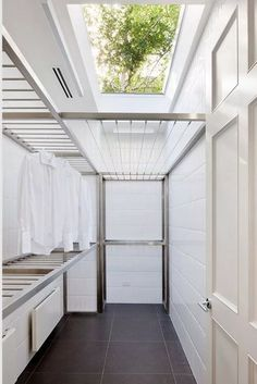 60 drying room design ideas that you can try in your home 55 Small Laundry Room Ideas are a lot of fun if you find the right ones and use them adequately. With the right approach and some nifty ideas you can take things to the next level. Outdoor Laundry Rooms, Modern Laundry Rooms, Laundry Room Layouts, Laundry Room Organization, Outside Laundry Room, Storage Organization, Organizing, Layouts Casa, House Layouts