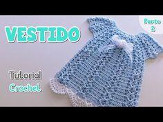 Crochet Crafts, Crochet Projects, Knit Crochet, Crochet Girls Dress Pattern, Crochet Patterns, Baby Blanket Crochet, Crochet For Kids, Knitting Socks, Baby Dress