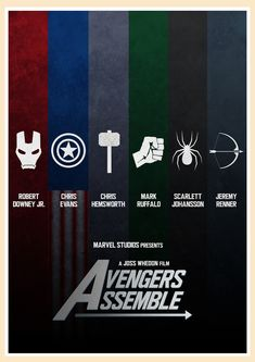 Can use as backgrouds - The Avengers