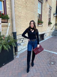 Sometimes the best looks are truly the easiest to style. When I saw this beautiful long sleeve tee with a cut-out detail during my . Leopard Print Coat, Holiday Looks, Outfit Posts, Your Style, Midi Skirt, Long Sleeve Tees, Lisa, Dress Up, Turtle Neck