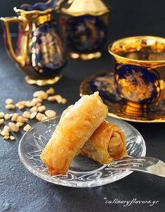 Phylo Rolls with Spoon Sweet