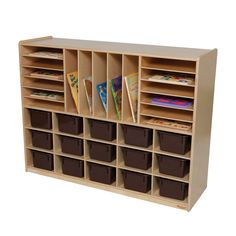 Natural Environment 32 Compartment Cubby