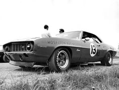Throwback Thursday! Warren Agor of Rochester and the #13 Camaro Hugger Orange. Hoselton Chevrolet sponsored the car for the three years that Agor drove the car. At the time of his retirement from racing in 1973, Warren had accumulated more points than any active professional driver participating in the Trans-Am series! #chevy #chevrolet #hoselton