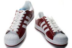 Adidas Originals Unisex Superstar 2 Sneaker Red White