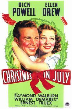 """Crítica extensa de """"Navidades en julio"""" (1940), dirigida por Preston Sturges."""