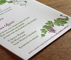sthelena letterpress wedding invitation by invitations by ajalon