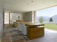 Modern Contemporary Stone House