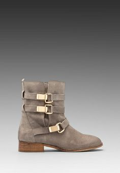 Steve Madden Haggle Boot in Gray #boots #shoes