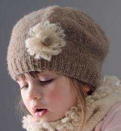 Modèle chapeau jersey - Modèles tricot enfant - Phildar