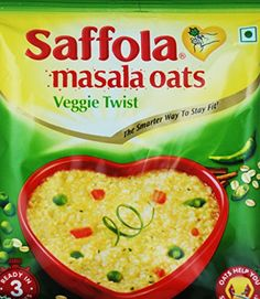 Saffola Classic Oats Veggie twist Pack of 12 * To view further for this item, visit the image link.