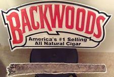 New Vintage Backwoods(2piece) Cigar Metal sign