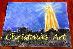 Christmas Chalk Art at Hodgepodge