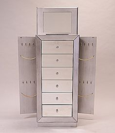 Hives and Honey Mia Mirrored Jewelry Armoire #Dillards