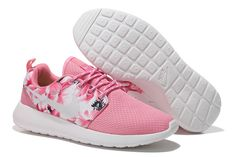 factory price 79b15 f41f7 Nike Women s Roshe Run Floral Pink Running Shoes Sneakers For Sale, Nike  Shoes For Sale