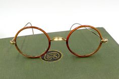 A personal favorite from my Etsy shop https://www.etsy.com/listing/549339226/antique-gold-windsor-eyeglasses-gold