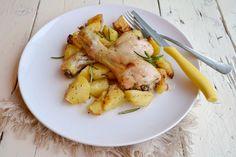 pollo,pollo al forno,pollo con patate al forno,le ricette di tina,