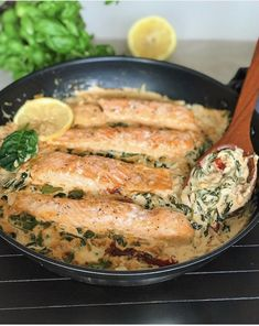 Fish Recipes, Lunch Recipes, Seafood Recipes, Dinner Recipes, Cooking Recipes, Healthy Recipes, Seafood Diet, Fish And Seafood, Zeina