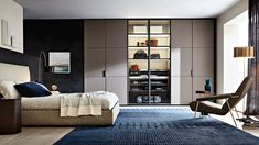 GLISS MASTER SKIN - Designer Built-in cupboards from Molteni & C ✓ all information ✓ high-resolution images ✓ CADs ✓ catalogues ✓ contact. Cabinet Door Designs, Cabinet Doors, Wardrobe Design, Built In Wardrobe, Closet Bedroom, Master Bedroom, Bedroom Furniture, Furniture Design, Wardrobe Cabinets