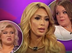 Farrah Abraham is continuing her feud with her co-stars by trashing their parenting skills! The Teen Mom OG star called Amber Portwood and Catelynn Lowell bad moms weeks after their reunion show br. Teen Mom Og, Celebrity News, Amber, Parenting, Celebrities, Snapchat, Stars, Celebs, Sterne