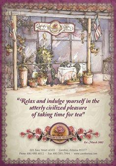 The English Rose Tea Room, Cave Creek, Arizona
