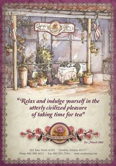 The English Rose Tea Room, Cave Creek, Arizona