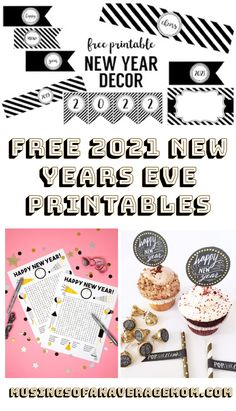 Free 2021 New Years Eve printables including party printables, home decor, activities and more! Holiday Activities, Holiday Crafts, Party Printables, Free Printables, Ag Dolls, New Years Eve, Happy New, Parents, About Me Blog