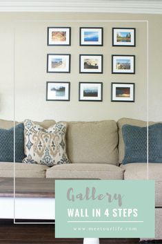 How to create a picture gallery wall in 4 easy steps - Meetourlife Gallery Wall, Decor, Home Diy, Wall, Home Improvement Projects, Picture Gallery Wall, Rustic Country Home, Home Improvement, Home Decor