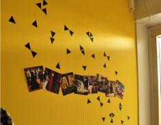 Superprints on a wall