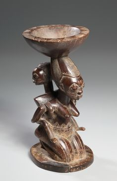 Mother-and-Child Caryatid Vessel | Cleveland Museum of Art