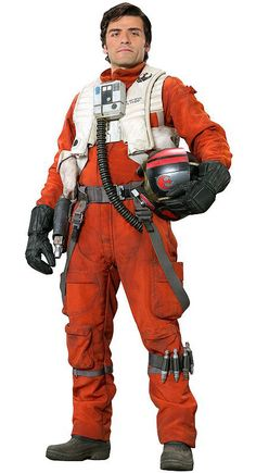 Poe Dameron from Star Wars Episode VII The Force Awakens-Oscar Isaac - Hubby will not refuse this idea for a baby costume. or maybe a DIY onsie project?